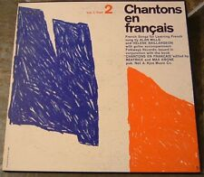 "Album By Alan Mills, ""Chantons en Francais"" on Folkways"