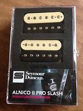 Seymour Duncan Signature Slash Alnico II Pro Humbucker Pickup Set Zebra APH-2s