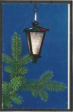 USSR UDSSR 1971 New Year lantern Christmas tree Künstlerkarte congratulation MK