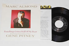 """MARK ALMOND FEAT. GENE PITNEY -Something's.. 7"""" 45 mit Product Facts Promo-Flyer"""