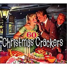 60 CHRISTMAS CRACKERS (Frank Sinatra, Chuck Berry, Louis Armstrong) 3 CD NEU