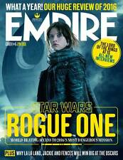 EMPIRE MAGAZINE JANUARY 2017 STAR WARS - ROGUE ONE - Jyn Erso (Felicity Jones)