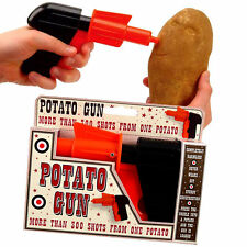 KIDS CHILDRENS POTATO SPUD GUN TOY CLASSIC RETRO PISTOL SHOOTER JOKE