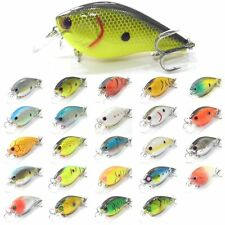 3 1/4inch 1/2 oz Crankbait Fishing Lures Shallow Water For Bass Fishing Random#