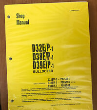 Komatsu D32E/P-1, D38E/P-1, D39E/P-1 Dozer Bulldozer Service Shop Repair Manual