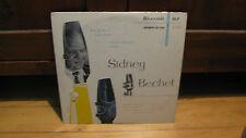 """SIDNEY BECHET-ORIG RIVERSIDE 2516 10"""" DG-NICE COPY"""