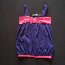 MARC JACOBS GIRLS CAMI VEST TOP PINK/BLUE AGE 12 RRP £59 NOW £25.50