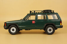 1/18 New China BJ jeep Cherokee 2500 model green color
