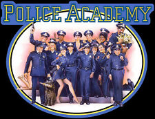 80's Comedy Classic Police Academy Poster Art custom tee AnySize AnyColor