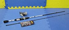Lew's Laser Speed Spin IM6 Graphite Spinning Combo 6' Rod Medium LSG2060M-2