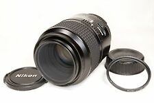 Nikon Nikkor AF-D 105mm f/2.8D Micro FX auto focus prime lens, Made in Japan