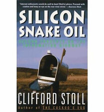 Silicon Snake Oil (1994) second thoughts on information highway-Free Shipping