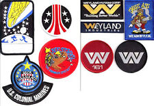 "ALIENS Movie Embroidered Patch Set of 10-  3-4"" (ALPA-SET-II-10)"