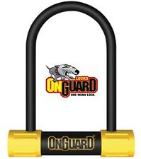 OnGuard Bulldog Mini D U Shackle lock MTB Bicycle Cycle Bike 140mm x 13mm