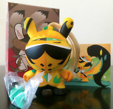 "DUNNY 3"" ART OF WAR SERIES PATRICIO OLIVER YELLOW 1/20 KIDROBOT 2014 TOY FIGURE"