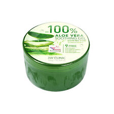 3W CLINIC Aloe Vera Soothing Gel - 300g