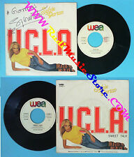 LP 45 7'' SYLVIE VARTAN U.c.l.a. Sweet talk 1983 AUTOGRAFATO SIGNED no cd mc vhs