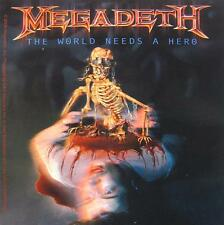 "MEGADETH AUFKLEBER / STICKER # 11 ""THE WORLD NEEDS A HERO"" - PVC WETTERFEST"