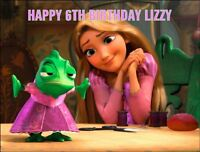 A4 RAPUNZEL TANGLED EDIBLE ICING SHEET BIRTHDAY CAKE TOPPER