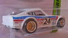 HOT WHEELS 2016 CUSTOM MADE DATSUN 240Z WHITE BBS TYPE WHEELS CUSTOM