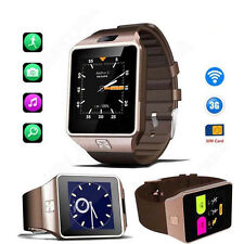 New Android 4.4 Bluetooth Smart Watch SIM Smartwatch Phone With Camera 3G WiFi