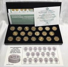 2010 PRESIDENTIAL DOLLAR COLLECTION (20 COINS) INCLUDING UNC, PROOF, PREMIUM!