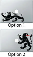 Lion Sticker Apple Mac Book Air/Pro Dell Laptop Decal Vintage antique Heral