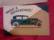 5 vintage advert flyers Tynyt car enamel lacquer finish 1920s/30s Newcastle