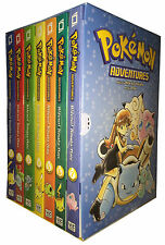 Pokemon Adventures Red & Blue Box Set: Volumes 1-7 by Mato 9781421550060 New