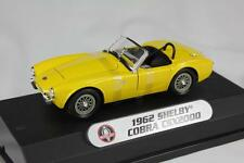 SHELBY COBRA CSX2000 1962 SHELBY COLLECTIBLES 00159 1:24 NEW MODEL YELLOW