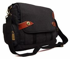 Mens Boys Womens College School Work Messenger Satchel Cross Body Shoulder Bag
