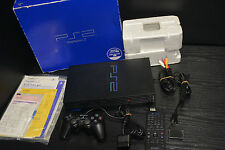 SONY PLAYSTATION 2 PS 2 TWO  SCPH- 18000 PSX BLACK REMOTE PACK IMPORT JAPAN RARE