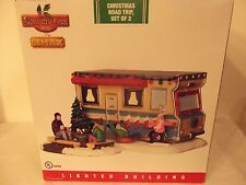 Coventry Cove by Lemax Christmas Road Trip Lighted RV (2 Piece Set) BRAND NEW