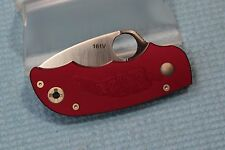 Rare NEW Unused Numbered C71CBP SPYDERCO Cranberry Salsa Model Folding Knife
