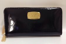 BNWT Michael Kors Continental Black Patent Purse Wallet RRP £135