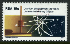 South Africa 498, MI 535, MNH. Nuclear Power Plant. Uranium Atom, 1977
