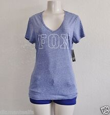 Fox Racing Women's Covert V-Neck Tee – Ultraviolet sz M