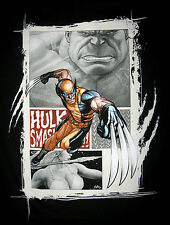 Marvel/DC: WOLVERINE SLICES T-Shirt (M) - (sideshow/legends/comics/figure)
