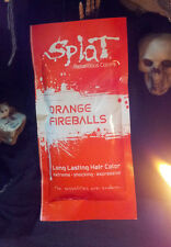 SPLAT Rebellious Colors ORANGE FIREBALLS 1.5oz SINGLE Emo Raver Rocker Goth Punk