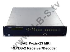SAE pyxis-23 MKII-MPEG - 2 ricevitore/Decoder