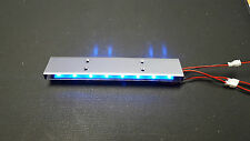 LED Police car light kit blue LED 9 flashing patterns brand new 3-12V DC input