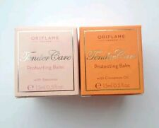 2 Oriflame Tender Care Protecting Balms (Cinnamon & Original) New *Sale*