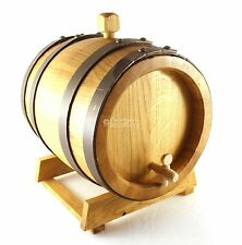 BOTTICELLA per distillati in legno di ROVERE 8 lt. Grappa Brandy -Maestri Bottai