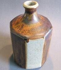 Knabstrup Studio Keramik Vase achtkantig Keramikvase Denmark skandinavisch