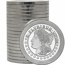 SPECIAL-Morgan Dollar Stackables by SilverTowne 1oz .999 Silver Medallion (20pc)