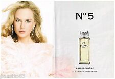 PUBLICITE ADVERTISING 105 2008  CHANEL eau première n°5 (2p) NICOLE KIDMAN