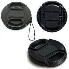 55mm Center-Pinch Snap-on Front Lens Cap Cover for Canon 550D 7D 5DIII 60D 1100D