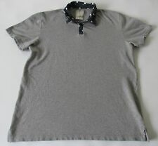 Shirts For All My Friend Urban Outfitters Men's Short Sleeve Gray Polo Shirt LG