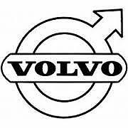 volvo car lorry vinyl sticker decal for glass bodywork