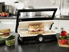 Nonstick Panini Maker n Grill Press Sandwich Griddle Countertop Ceramic Coating